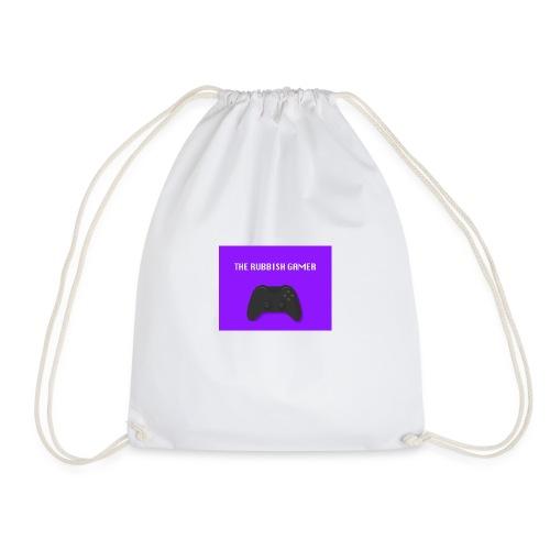 THE RUBBISH GAMES LOGO - Drawstring Bag