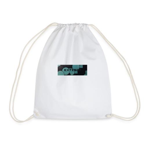 Extinct box logo - Drawstring Bag