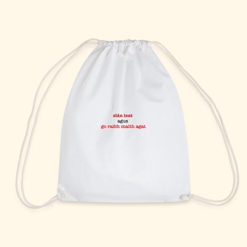 Good bye and thank you - Drawstring Bag