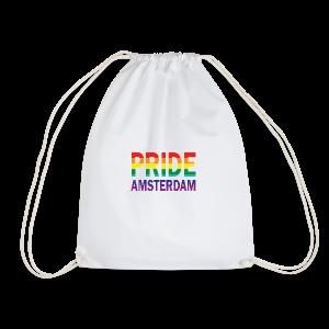 Pride Amsterdam in regenboog kleur - Gymtas