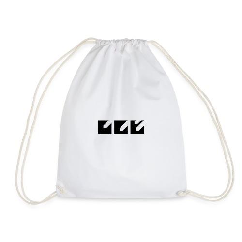Fortitude Black - Drawstring Bag