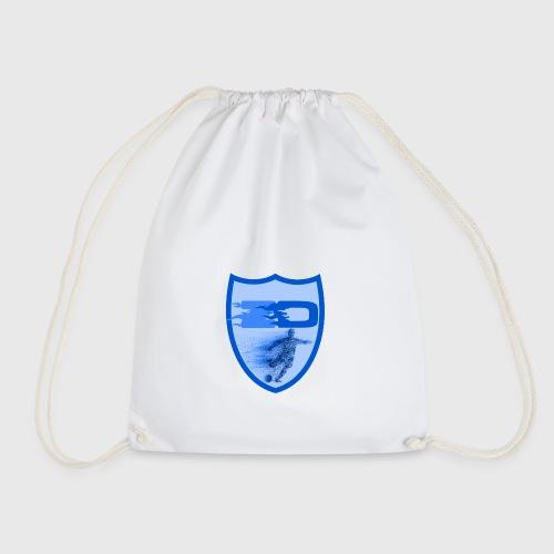 J R Footballers Shield Logo - Drawstring Bag