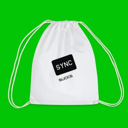 t-shirt-DIETRO_SYNK_SUCKS-jpg - Sacca sportiva