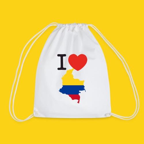 I love Colombia - Sacca sportiva