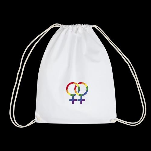Símbolo L, bandera gay, LGBTI - Mochila saco