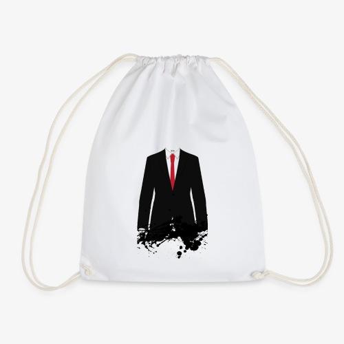 The Hitman - Black Stain - Drawstring Bag