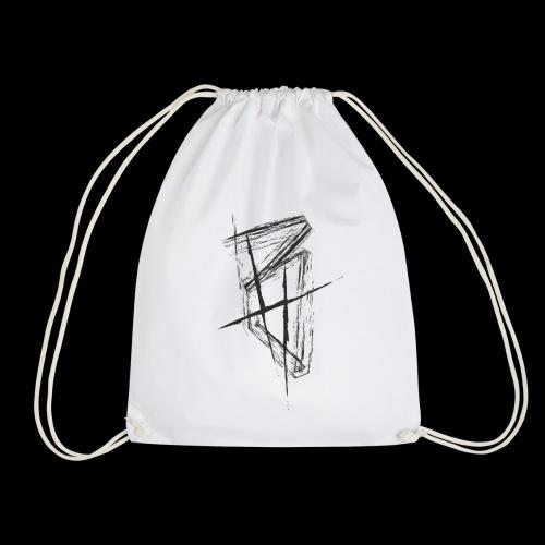 BrettHit_BlackLogo - Drawstring Bag