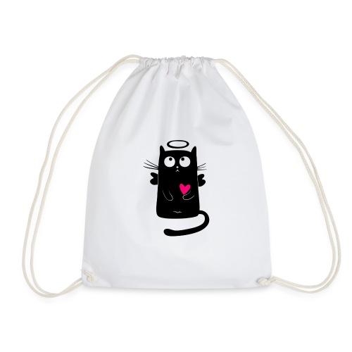 cat comic - Turnbeutel