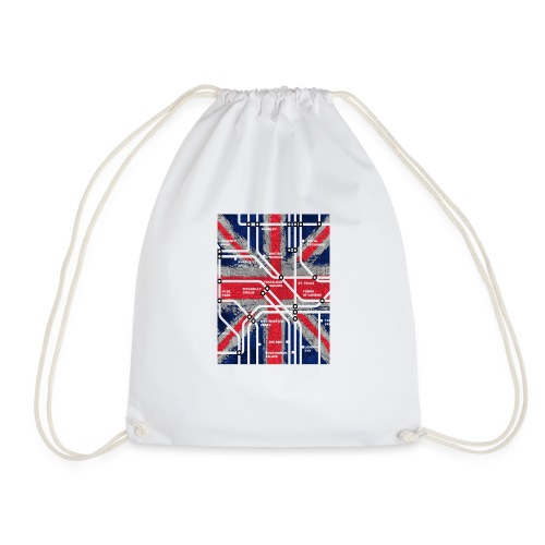 tube map - Drawstring Bag
