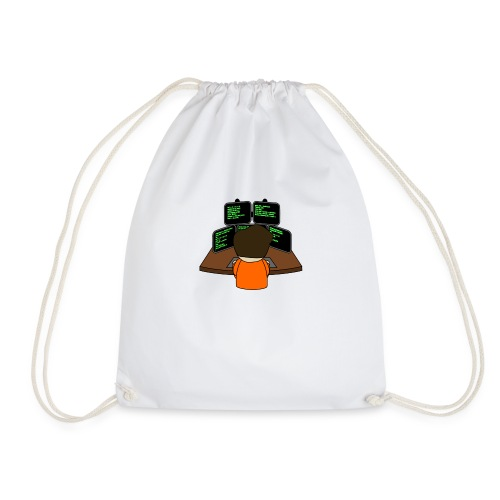 The small coder - Drawstring Bag