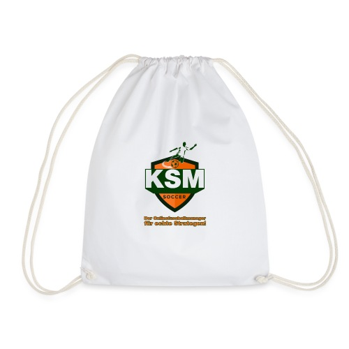 KSM-Soccer Logo - Turnbeutel