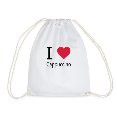 svgHeartCappuccino - Turnbeutel