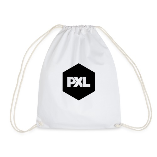 PXL BLK png - Drawstring Bag