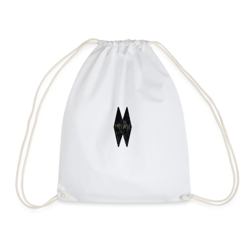 MELWILL black - Drawstring Bag