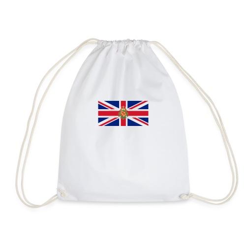 british flag including wales - Drawstring Bag