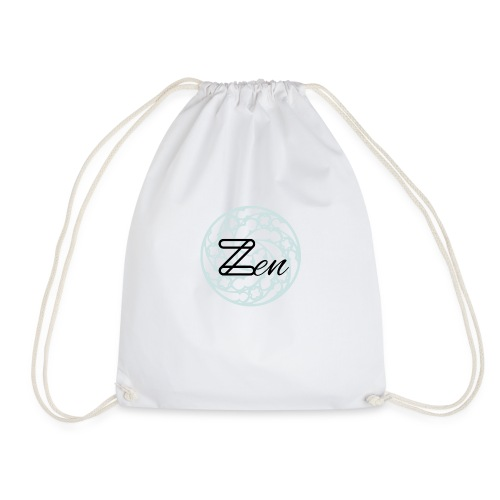 Zen1 Black - Drawstring Bag