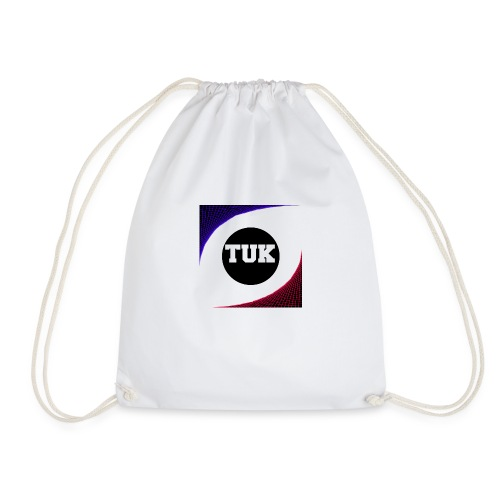 new stream and youtube logo - Drawstring Bag
