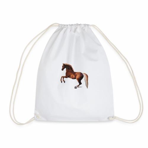 Pferd gemalt - Turnbeutel