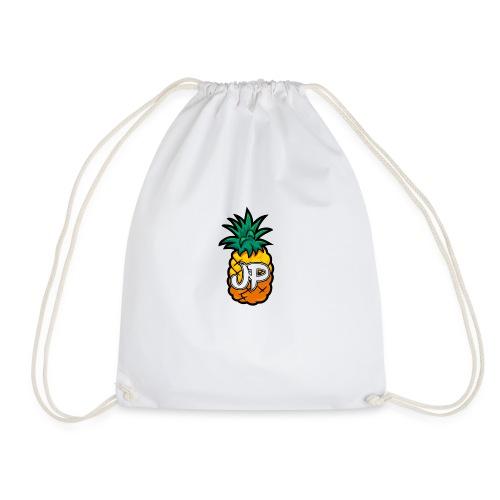 Just Pine Logo White - Drawstring Bag