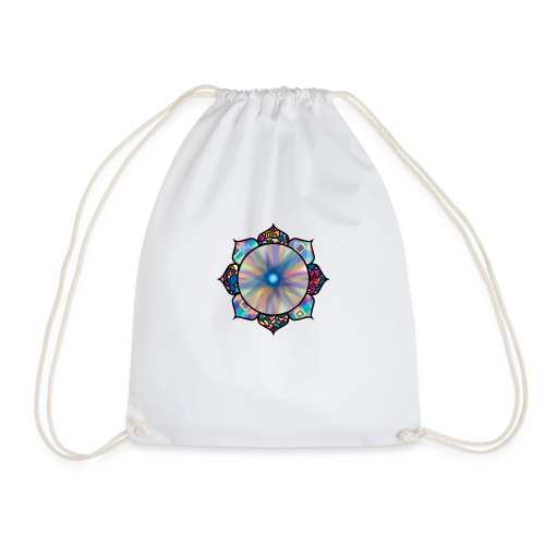 Buddha Flower - Drawstring Bag