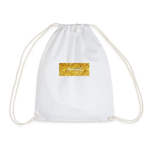 Scripted. Box Logo - Drawstring Bag
