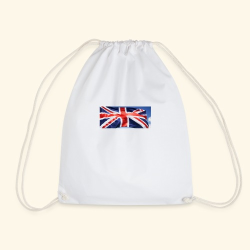 UK flag - Drawstring Bag