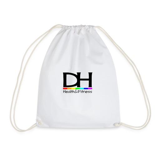 DH Health&Fitness Large logo - Drawstring Bag