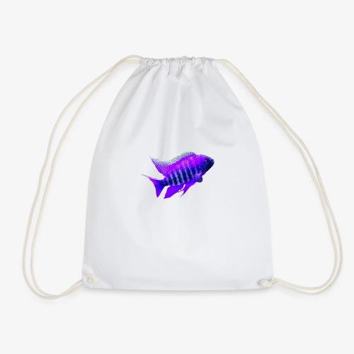 MIXED AFRICAN CICHLIDS - Drawstring Bag
