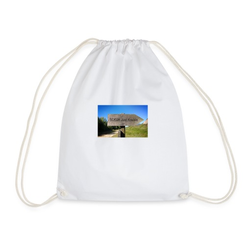 SCKUK Sign - Drawstring Bag