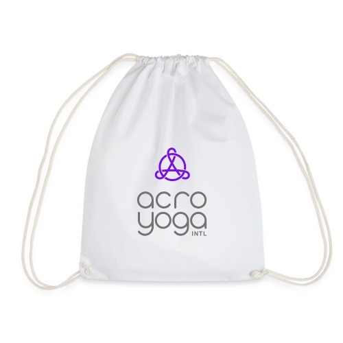 AcroYoga International Logo - Drawstring Bag