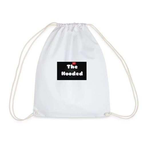 Mens 'THE HOODED' T-Shirt - Drawstring Bag