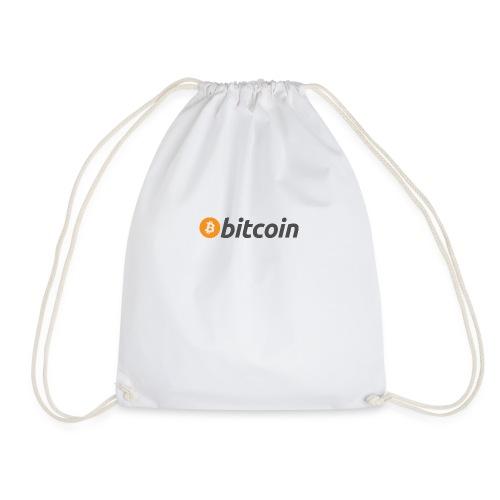 Bitcoin Logo - Drawstring Bag