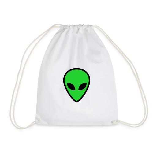 alien face 4 - Sacca sportiva