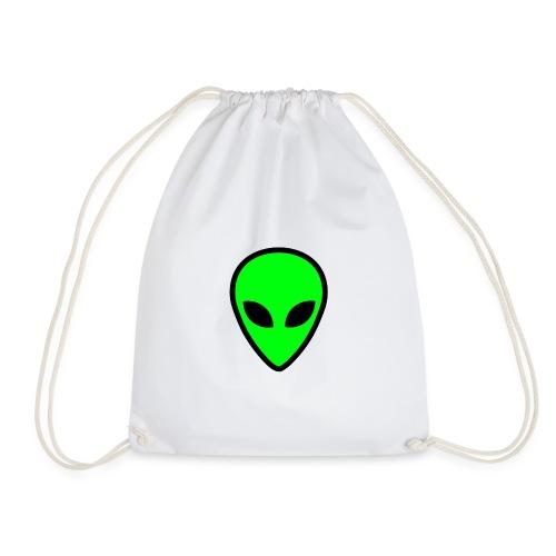 alien face 5 - Sacca sportiva