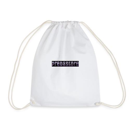 PredaStore Original Logo Design - Drawstring Bag