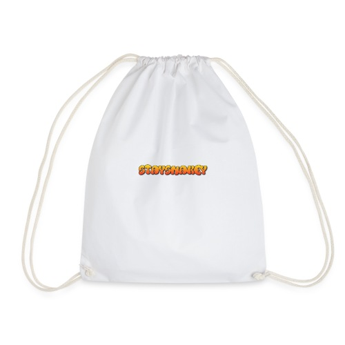 womens jacket grey - Drawstring Bag