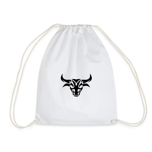 tribal bull burned png - Sportstaske