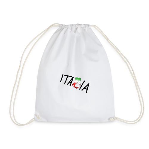 Italia T-Shirt Herren - Turnbeutel