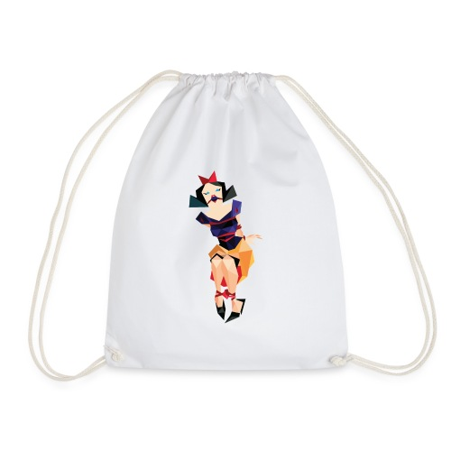 snow - Drawstring Bag