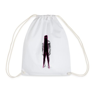 Figure Censor Mask - Drawstring Bag