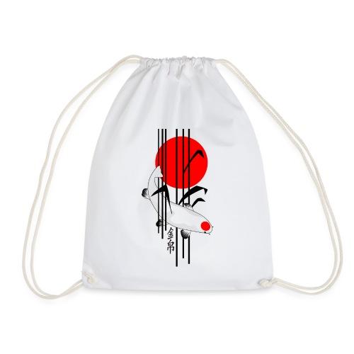 Bamboo Design - Nishikigoi - Koi Fish 5 - Turnbeutel