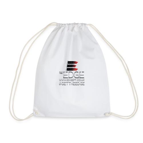 The Edge Logo - Drawstring Bag