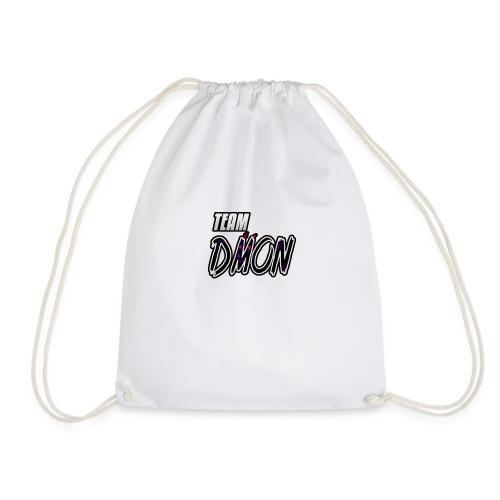 teamdmonback - Drawstring Bag