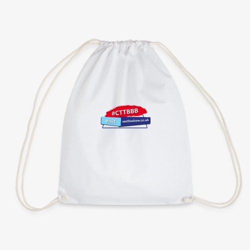 Committed to the Blues Hastag Logo - Drawstring Bag