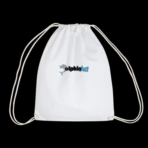 Dolphin Art Logo - Turnbeutel