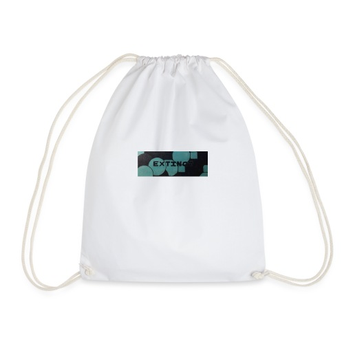 Extinct box logo - Drawstring Bag