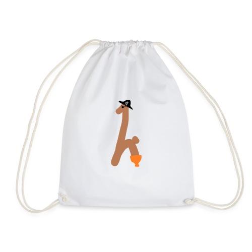Captain Toothy - Drawstring Bag