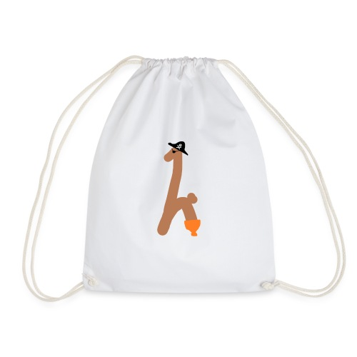 Captain Toothy - Drawstring Bag