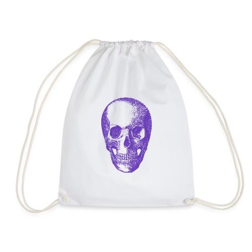 Purple Skull - Drawstring Bag