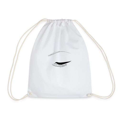 eye of beauty - Drawstring Bag